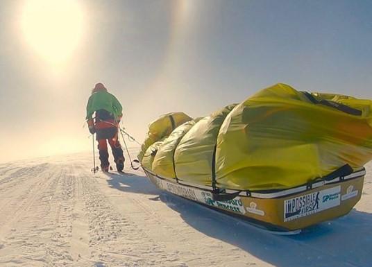 Американец стал первым человеком, в одиночку пересекшим Антарктиду.Вокруг Света. Украина