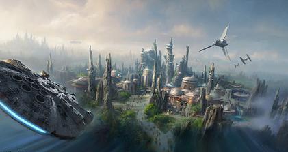 В 2019 Disney откроет два развлекательных парка в честь «Звездных войн»