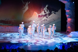В Киеве состоялся допремьерный показ 3D-шоу «Winterra»