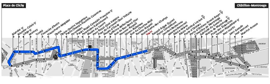 Дешевый Париж Дешевый Париж: как прожить в столице роскоши насыщенный день за 40 евро avtobus 68