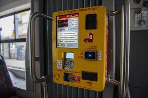 В билетных автоматах польской Лодзи появился украинский язык