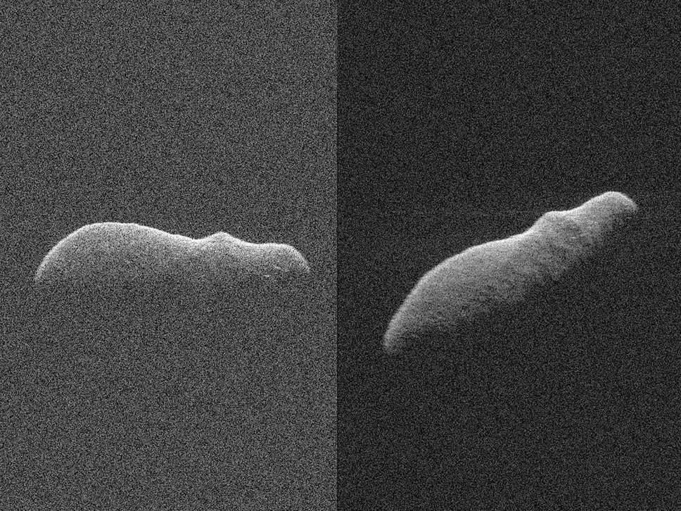 Мимо Земли пролетел астероид в форме гипоппотама