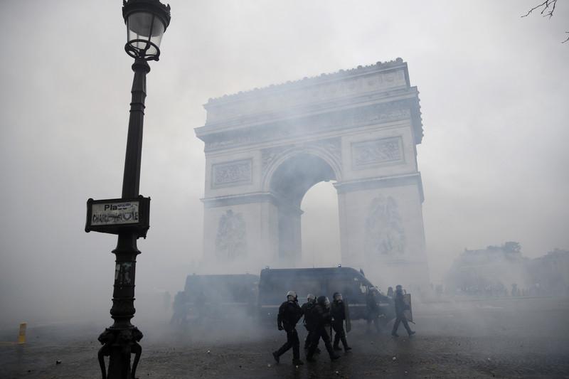 Беспорядки в Париже: