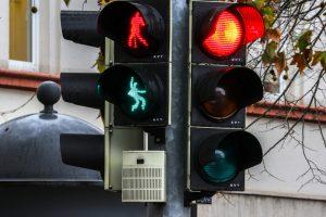 В Германии появился светофор с танцующим Элвисом