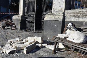 Извержение Этны вызвало на Сицилии землетрясение
