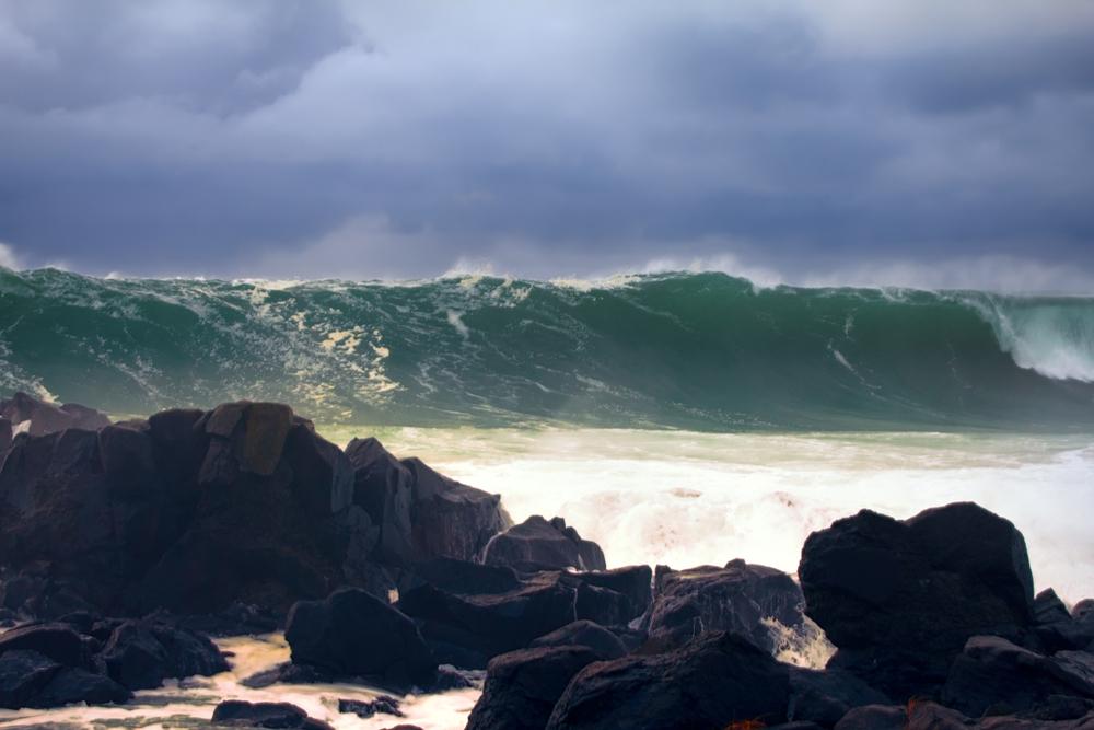 Тихоокеанские острова, Япония и Австралия ждут цунами