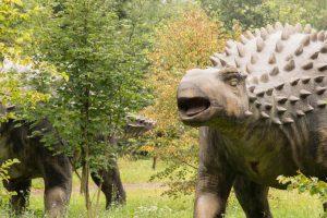Бронированные динозавры охлаждались носами-«кондиционерами»