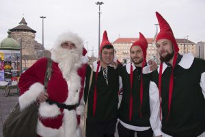 В Германии — дефицит Санта-Клаусов