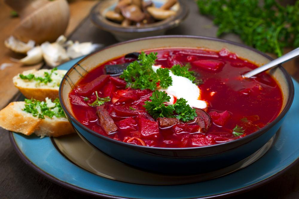 Кухни мира: украинский борщ