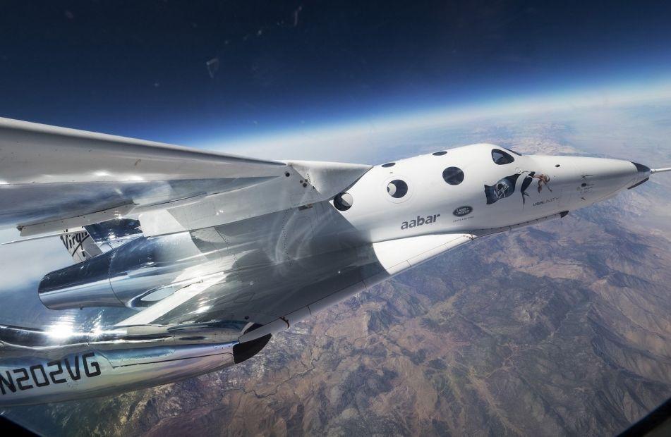 Туристический космоплан впервые вышел в космос