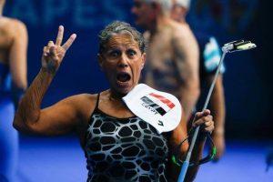 Возраст - не помеха: египетская пловчиха стала чемпионкой в 76 лет