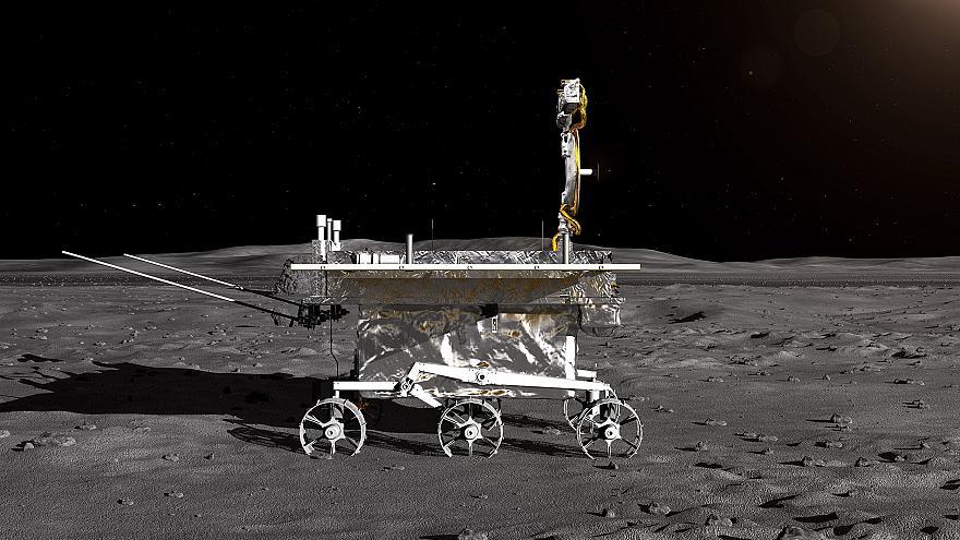 Китайский космический зонд впервые совершил посадку на темной стороне Луны.Вокруг Света. Украина