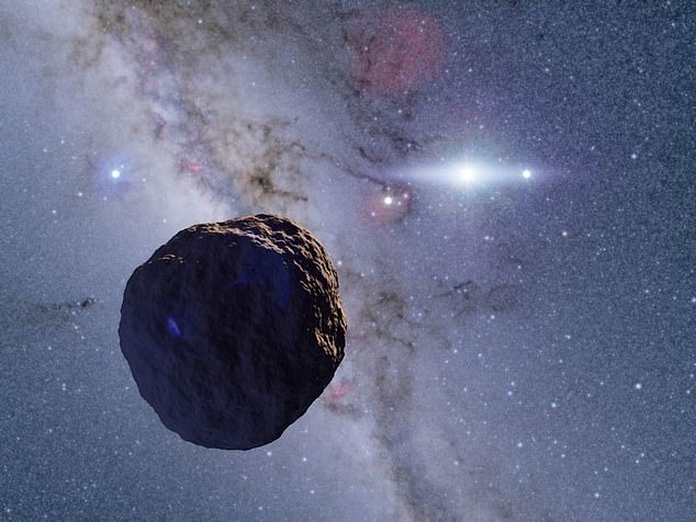 Астрономы нашли зачаток планеты на краю Солнечной системы