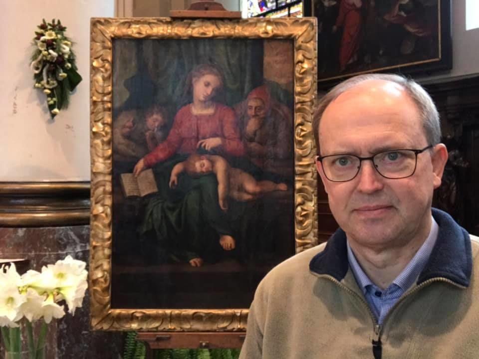 Картину, приписываемую Микеланджело, украли из бельгийской церкви