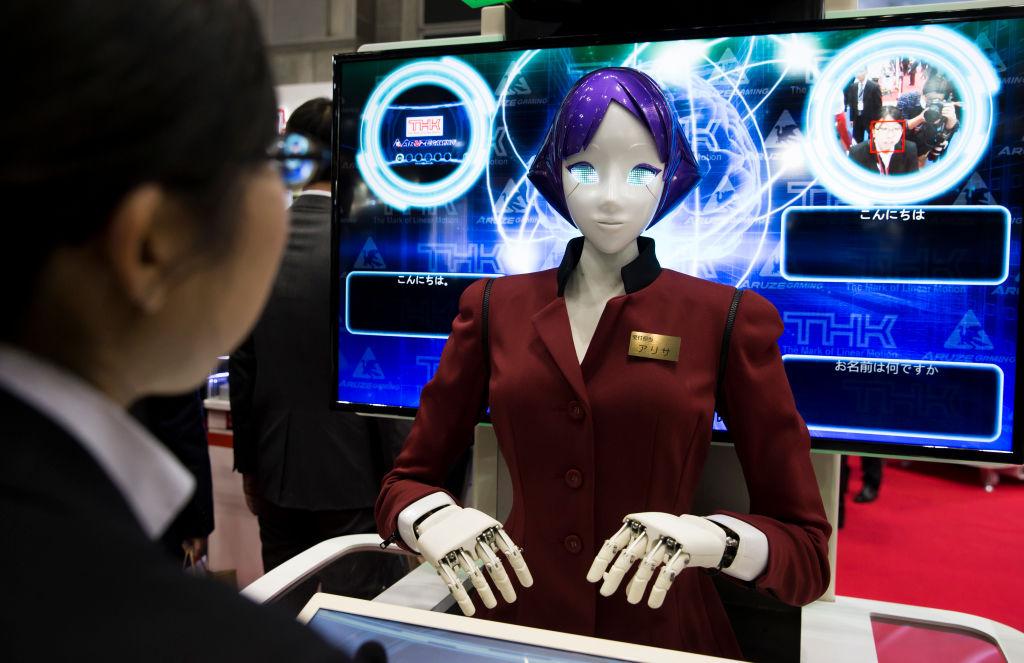 К Олимпиаде 2020 в метро Токио появятся роботы-андроиды