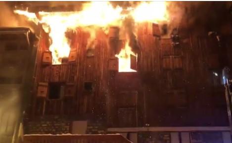 В Куршевеле произошел пожар: двое погибших, 25 пострадавших