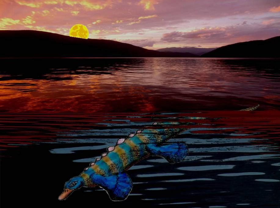 В Китае нашли останки странной рептилии.Вокруг Света. Украина