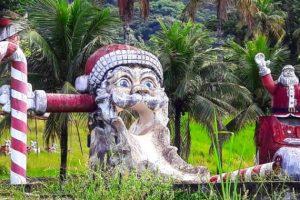Самый жуткий рождественский парк отдыха находится в Бразилии