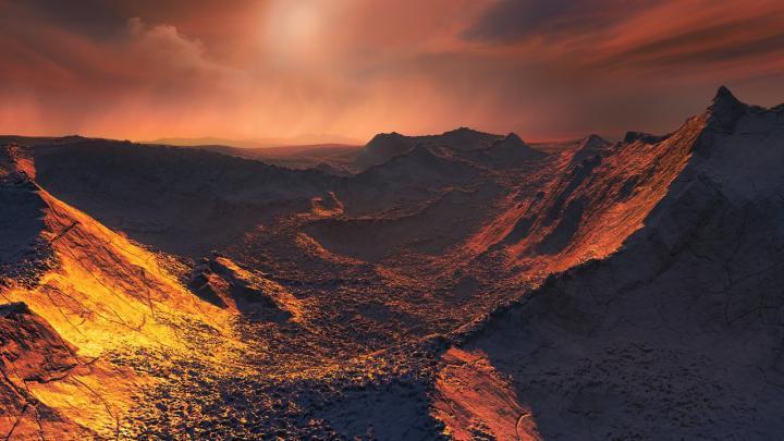На суперземле у звезды Барнарда может существовать жизнь: ученые
