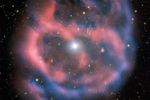 Астрономы сфотографировали последний вздох звезды