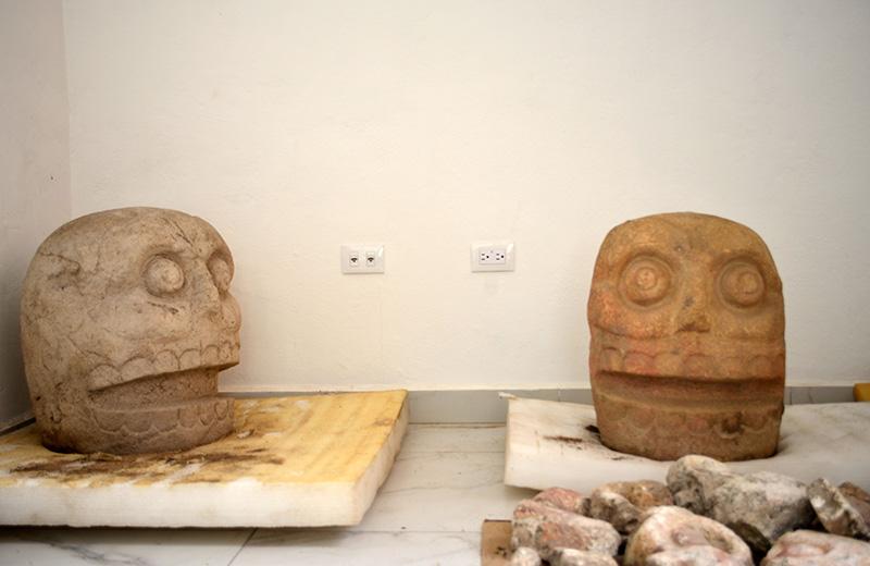 В Мексике впервые нашли храм бога, в честь которого свежевали людей