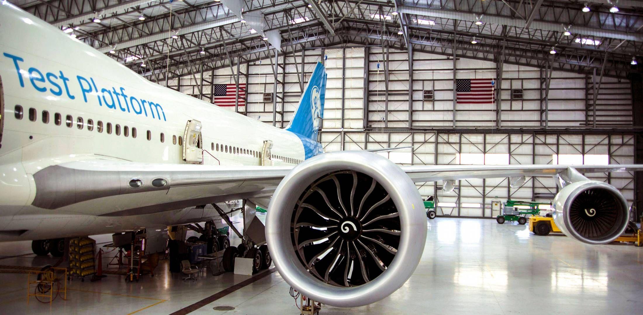 Как звучит крупнейший авиадвигатель в мире (видео)