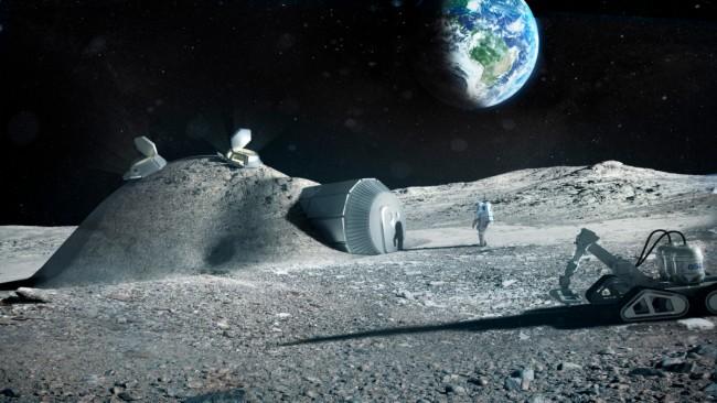 Французы планируют добывать на Луне полезные ископаемые