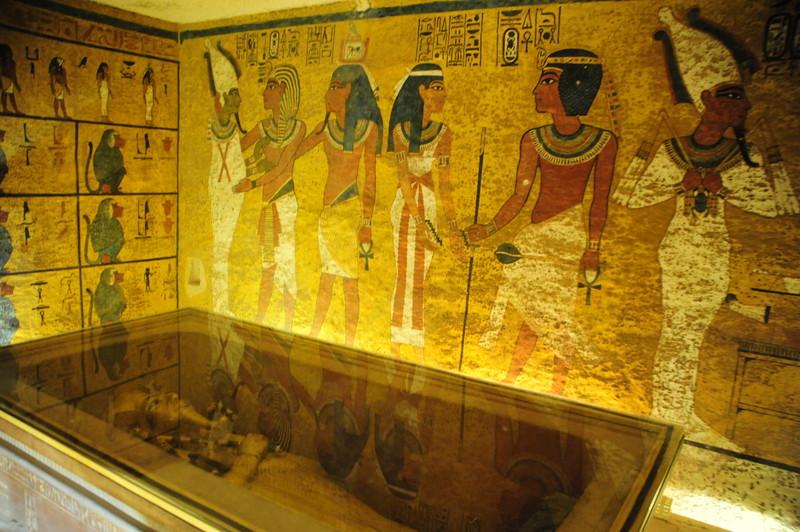Отреставрированную гробницу Тутанхамона открыли для туристов (видео)