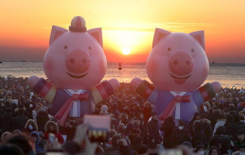 Как встретили Новый год 2019 в разных странах: фото Как встретили Новый год 2019 в разных странах: фото p 54868378