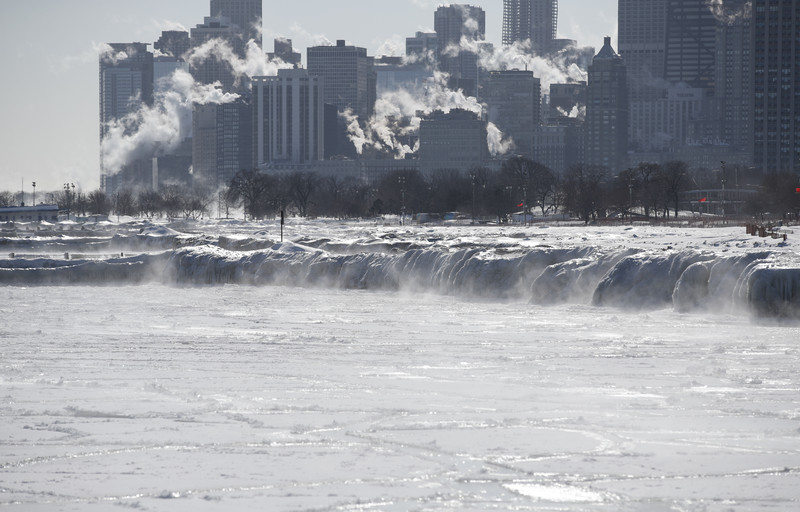 В США стало холоднее, чем на Северном полюсе