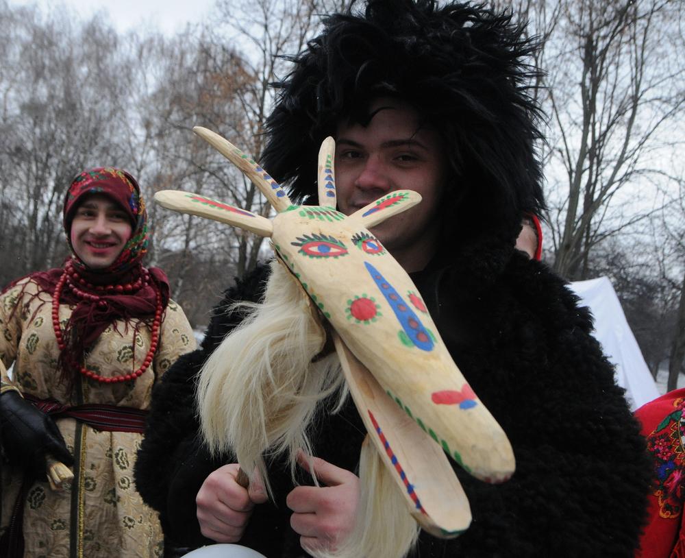 Маланка и Щедрый вечер в Украине