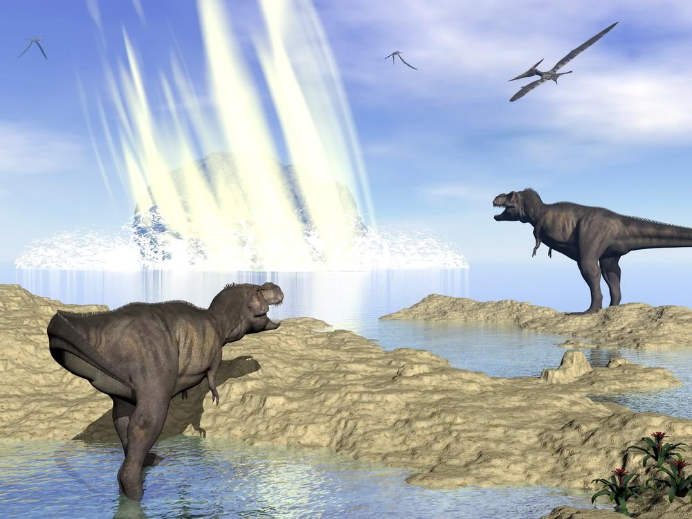 Столкновения с гигантскими метеоритами грозят Земле чаще, чем в древности
