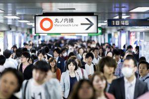 В Японии нашли необычный способ бороться с часом пик