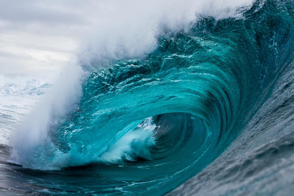 Глобальное потепление усиливает океанские волны