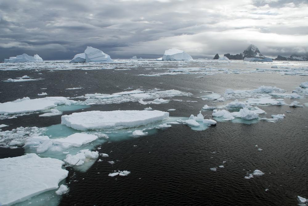 Площадь ледового покрова в Антарктике рекордно уменьшилась.Вокруг Света. Украина