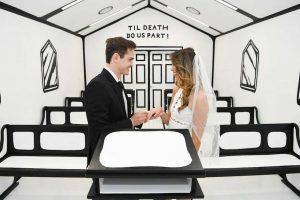 В Лас-Вегасе открылась «нарисованная» часовня
