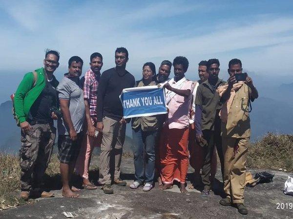 Первая женщина Индии поднялась на мужскую гору