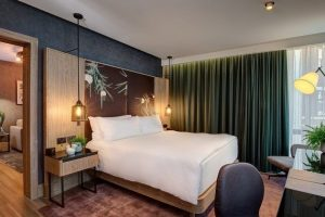В Лондоне открыли первый в мире гостиничный номер для веганов