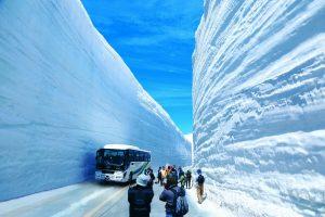 Снежный коридор в Японии
