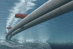 Норвегия строит подводный плавучий тоннель для автомобилей