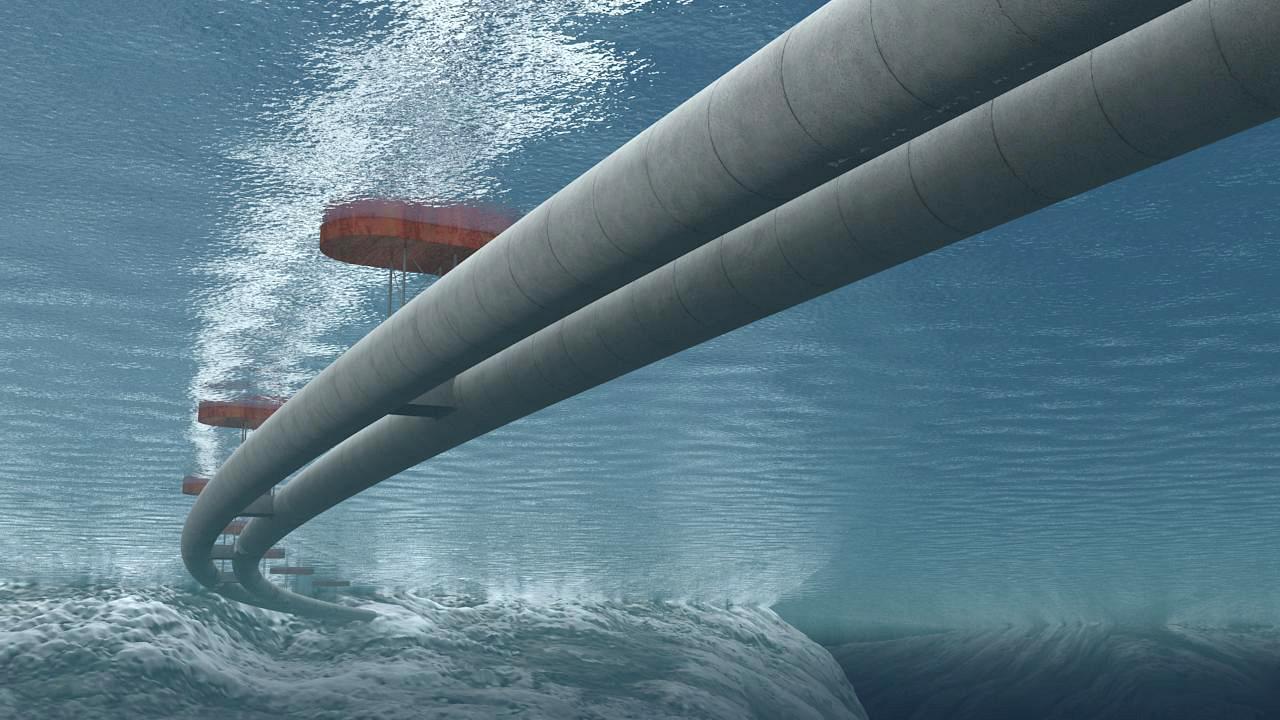 Норвегия строит подводный плавучий тоннель для автомобилей.Вокруг Света. Украина