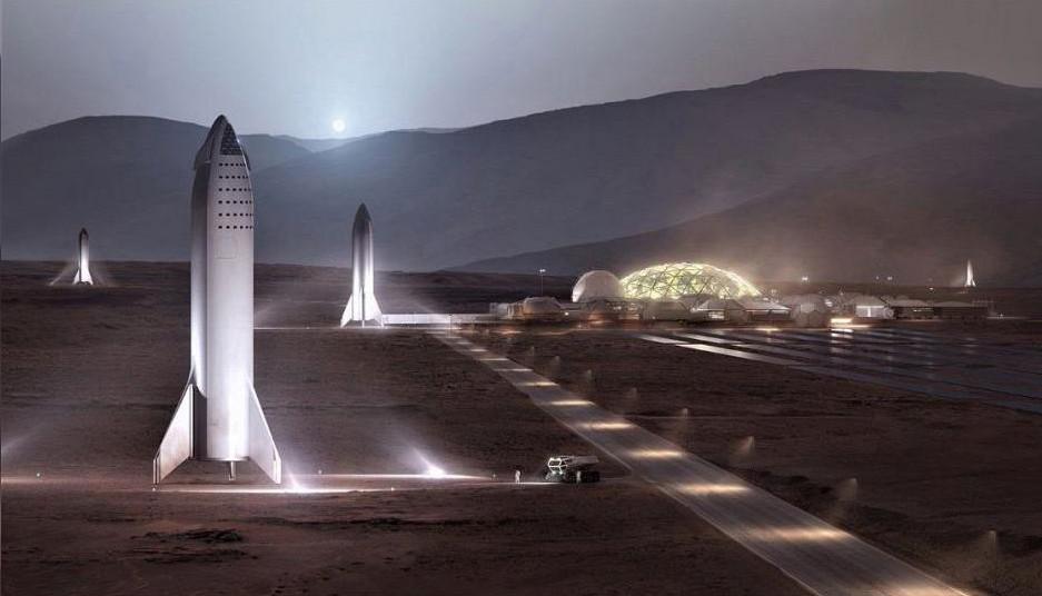 Илон Маск обещает доступные билеты на Марс