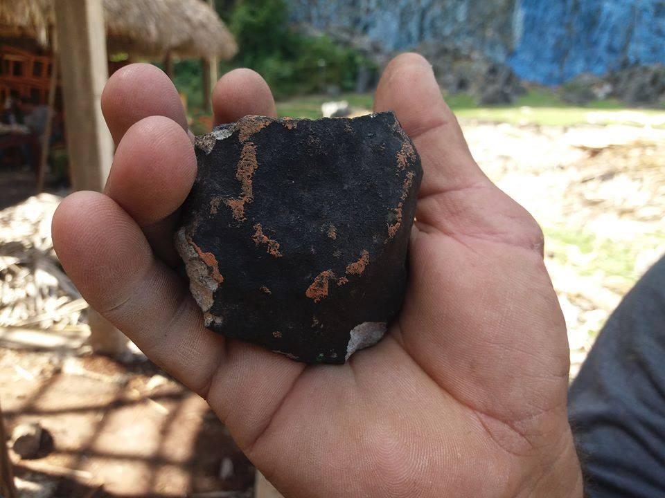 На Кубе упал метеорит