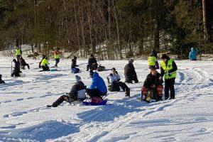 В Финляндии прошел чемпионат по зимней рыбалке в земле
