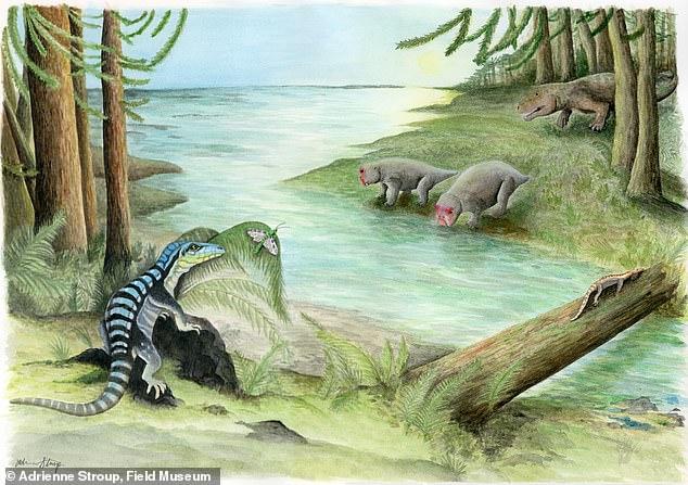 В Антарктиде нашли общего предка крокодилов и динозавров.Вокруг Света. Украина