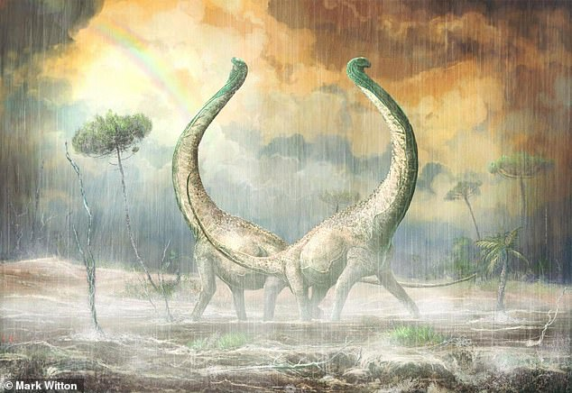 Палеонтологи обнаружили в Африке первых титанозавров.Вокруг Света. Украина
