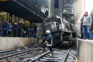 В Египте из-за драки машинистов взорвался поезд: 25 погибших