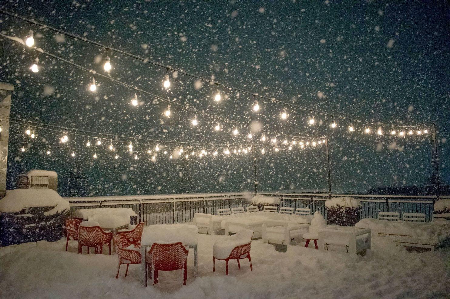 В Сиэтл пришел Snowamaggedon