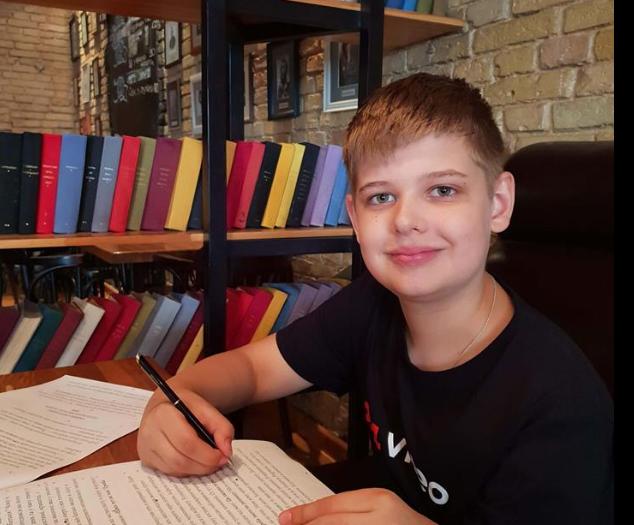 Шестиклассник из Киева победил на 37 олимпиадах за два месяца
