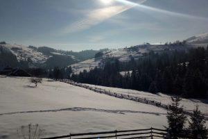 Место силы на вершине Карпат: зима в Верховине